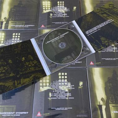 L'ÉGAREMENT D'ESPRIT - Written in Stone - CD DIGIPAK
