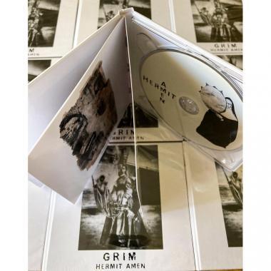 GRIM - Hermit Amen - CD DIGIBOOK
