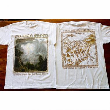 Белая футболка CALADAN BROOD - Echoes of Battle