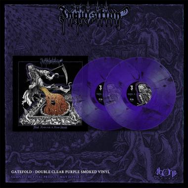 INQUISITION - Black Mass For A Mass Grave - DOUBLE LP GATEFOLD COLOURED