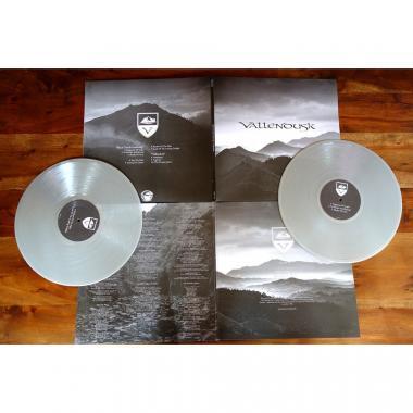 VALLENDUSK - Black Clouds Gathering + Vallendusk - DOUBLE LP GATEFOLD COLOURED