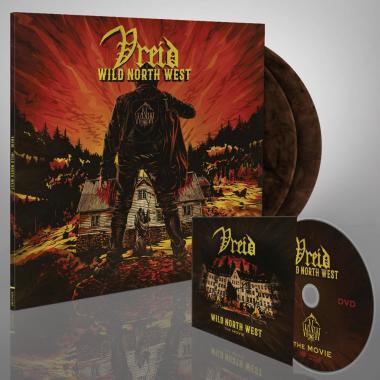 VREID - Wild North West - DOUBLE LP GATEFOLD  COLOURED  + DVD